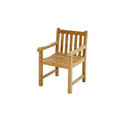 Ploß Sessel  Coventry - holzfarben - Teakholz - Garten  Gartenmöbel  Gartenstühle - Möbel Kraft