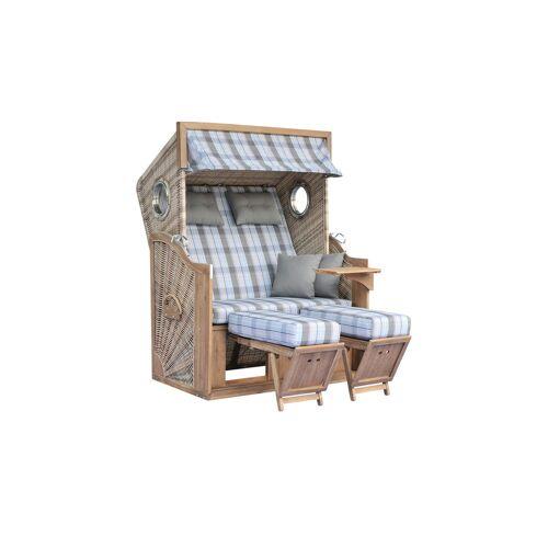 Möbel Kraft Strandkorb - braun - Garten  Gartenmöbel nach Materialien  Polyrattan-Gartenmöbel - Möbel Kraft