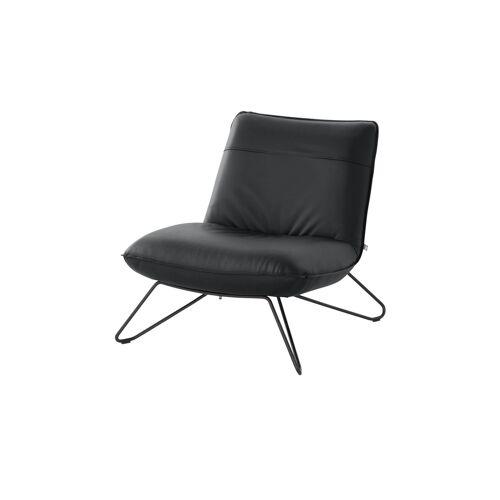ROLF BENZ Sessel  394 - schwarz - Polstermöbel  Sessel  Ledersessel - Möbel Kraft