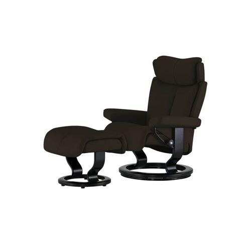 Stressless Relaxsessel mit Hocker - braun - Polstermöbel  Sessel  Ledersessel - Möbel Kraft