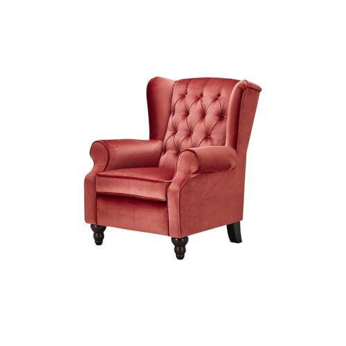 Möbel Kraft Ohrensessel - rot - Polstermöbel  Sessel  Ohrensessel - Möbel Kraft