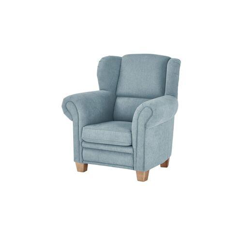 Möbel Kraft Ohrensessel - blau - Polstermöbel  Sessel  Ohrensessel - Möbel Kraft