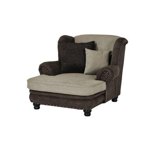 Möbel Kraft Big Ohrensessel - braun - Polstermöbel  Sessel  Ohrensessel - Möbel Kraft