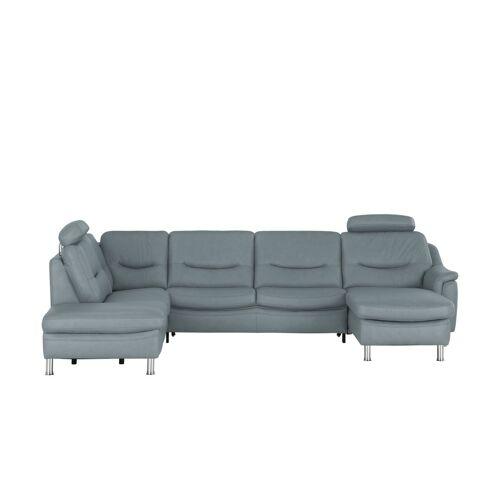 Hukla Wohnlandschaft  Harmony - grau - Polstermöbel  Sofas  Ledersofas - Möbel Kraft