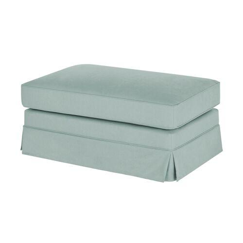 Möbel Kraft Hussenhocker - blau - Polstermöbel  Hocker - Möbel Kraft