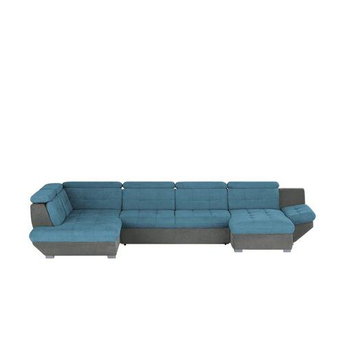 uno Wohnlandschaft - blau - Polstermöbel  Sofas  Schlafsofas - Möbel Kraft
