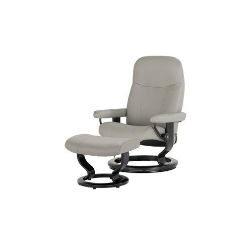 Stressless Sessel-Hocker-Set  Garda M - grau - Polstermöbel  Sessel  Fernsehsessel - Möbel Kraft