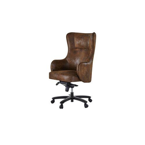 Möbel Kraft Drehstuhl - braun - Stühle  Bürostühle  Drehstühle - Möbel Kraft