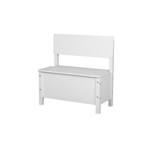 Möbel Kraft Kindertruhenbank  Landhaus - weiß - Bänke  Einzelbänke - Möbel Kraft