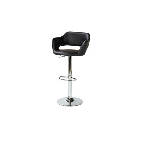 uno Barhocker  Hektor - schwarz - Stühle  Barhocker - Möbel Kraft