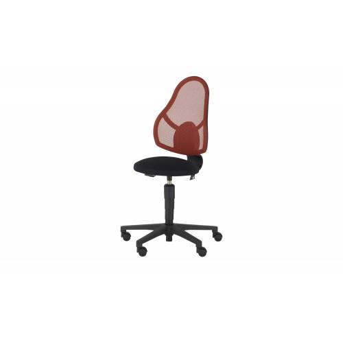 home worx Kinder- und Jugenddrehstuhl - rot - Stühle  Bürostühle  Drehstühle - Möbel Kraft