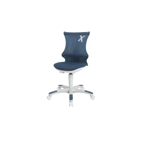 Sitness X KInder- und Jugenddrehstuhl - blau - Stühle  Bürostühle  Drehstühle - Möbel Kraft