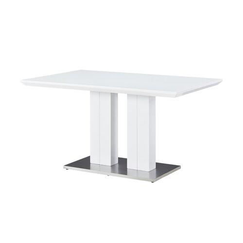 uno Säulentisch  Doni - weiß - Tische  Esstische - Möbel Kraft