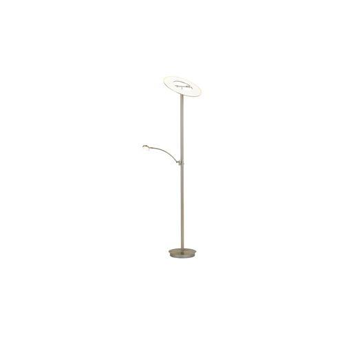 Möbel Kraft LED- Deckenfluter, 2-flammig, nickel matt - silber - Lampen & Leuchten  Innenleuchten  Stehlampen - Möbel Kraft