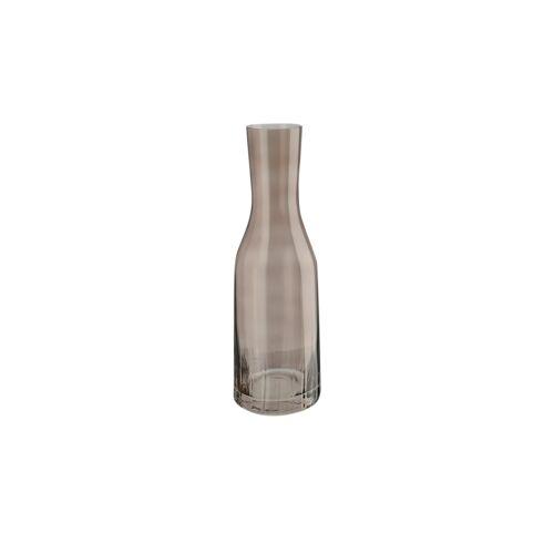 Peill+Putzler Karaffe mit Optik 1,2 L  Tavolo - braun - Glas - Gläser & Karaffen  Karaffen, Krüge - Möbel Kraft
