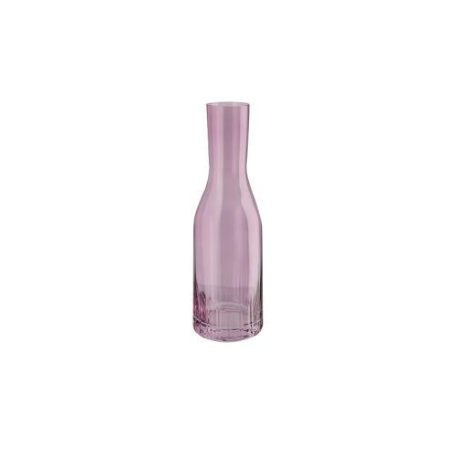 Peill+Putzler Karaffe mit Optik 1,2 L  Tavolo - rosa/pink - Glas - Gläser & Karaffen  Karaffen, Krüge - Möbel Kraft