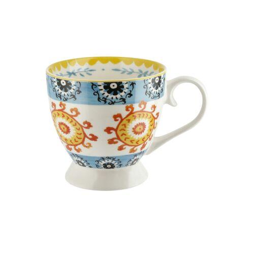 KHG Kaffeebecher  Persian Summer - Porzellan - Geschirr  Becher - Möbel Kraft