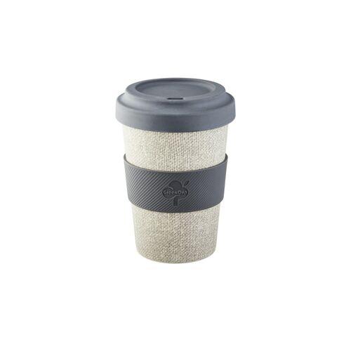 for friends Kaffeebecher - grau - Silikon - Geschirr  Becher - Möbel Kraft