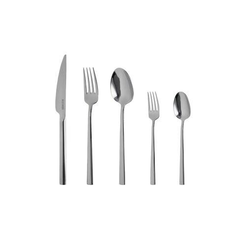 Meisterkoch Besteckset, 30-teilig  Juno - silber - Edelstahl - Messer & Besteck  Besteck-Sets - Möbel Kraft