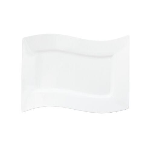KHG Servierplatte - weiß - Porzellan - Geschirr  Einzelgeschirrteile - Möbel Kraft