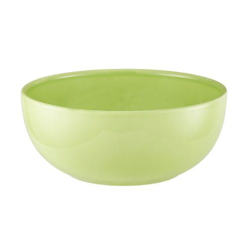 KHG Schüssel - grün - Keramik - Geschirr  Schalen - Möbel Kraft