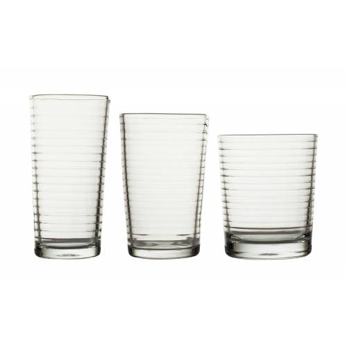 for friends Gläserset, 18-teilig - transparent/klar - Glas - Gläser & Karaffen  Trinkgläser - Möbel Kraft