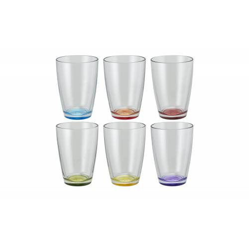 Peill+Putzler Glas, 6er-Set  Colore - transparent/klar - Glas - Gläser & Karaffen  Trinkgläser - Möbel Kraft