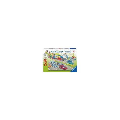 Ravensburger Puzzle 08916 - Unsere Polizei [2 x 20 Teile]