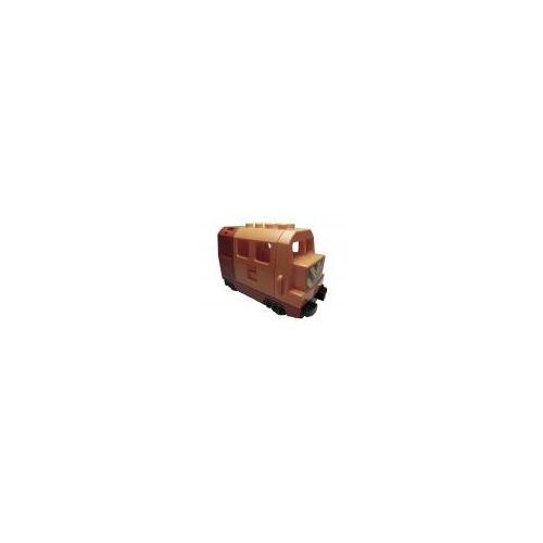 Lego 1x Lego Duplo Eisenbahn-Lokomotive [elektrisch] orange/rot/gelb