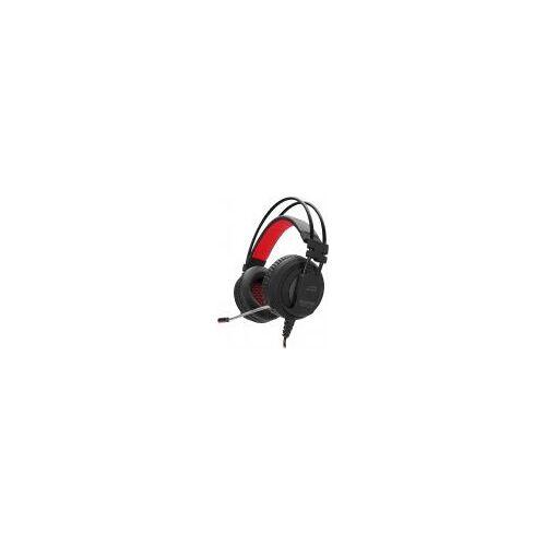 Speedlink Maxter Stereo Over-Ear Kopfhörer [kabelgebunden, für PS4] schwarz/rot