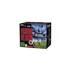 Nintendo New Nintendo 3DS Xenoblade Edition [inkl. Xenoblade Chronicles 3D] schwarz/rot