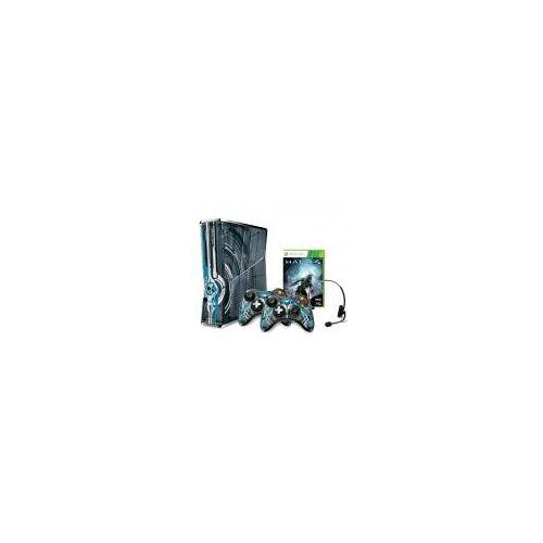 Microsoft Xbox 360 Slim 320GB [inkl. 2 Wireless Controller, inkl. Halo 4] schwarz