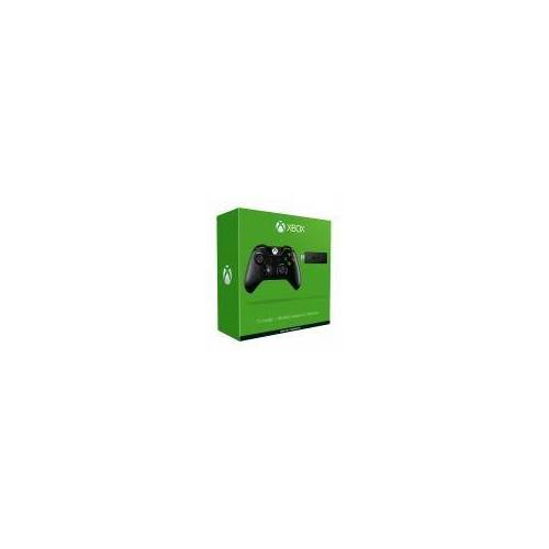 Microsoft Xbox One Wireless Controller [inkl. Wireless Adapter für Windows] schwarz
