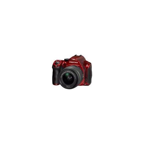 """Ricoh Pentax K-30 [16MP, Full HD, 3""""] rot inkl. smc DA 18-55mm 1:3,5-5,6 AL WR Objektiv"""
