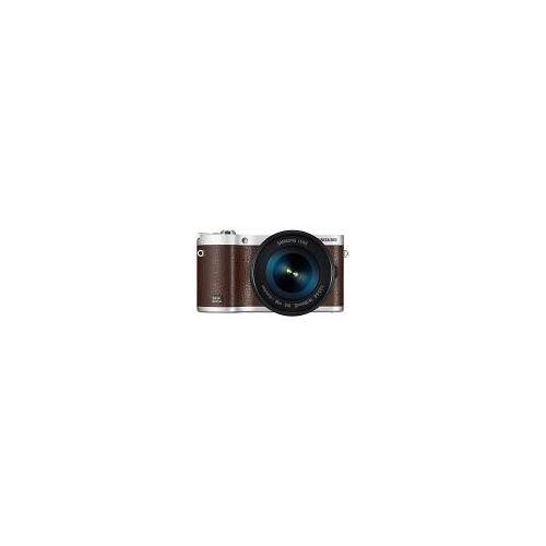 "Samsung NX300M [20.3MP, Full HD, 3,3""] braun inkl. 18-55 mm OIS i-Function Objektiv"
