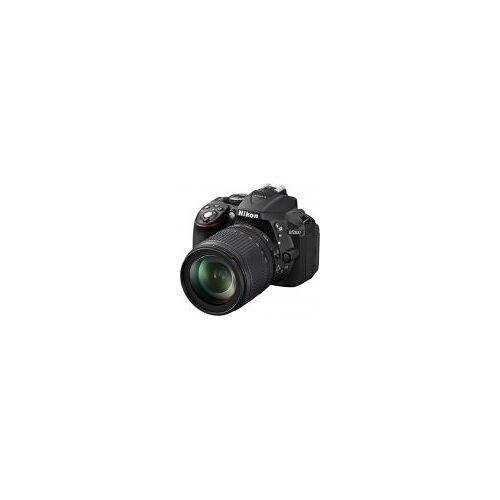 """Nikon D5300 [24,2MP, Full HD, 3,2""""] schwarz inkl. AF-S DX 18-105mm 1:3,5-5,6G ED VR Objektiv"""
