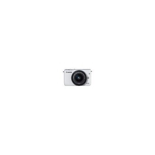 "Canon EOS M10 [18MP, Full HD, 3""] weiß inkl. EF-M 15-45mm 1:3,5-6,3 IS STM Objektiv"