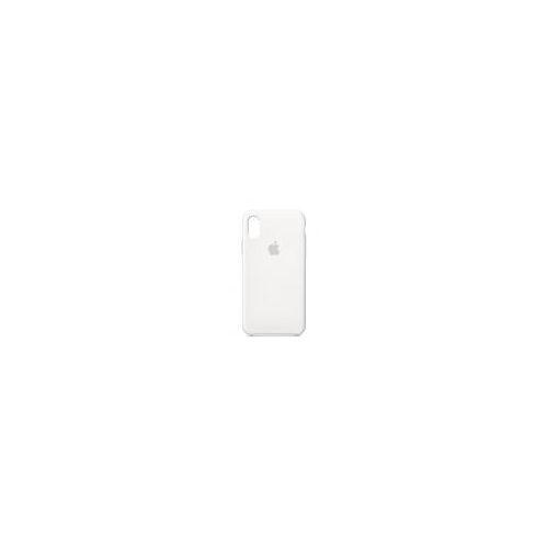 Apple iPhone X Silikonhülle weiß