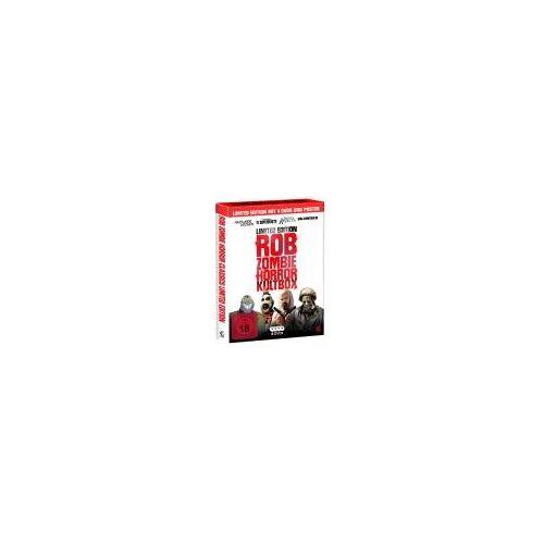 Rob Zombie Horror Kultbox (Limited Edition mit 4 Kult-Horror-Hits auf DVD, Sammelschuber und Poster)
