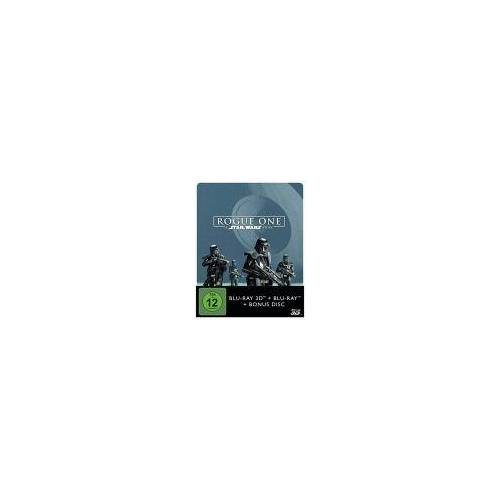 Rouge One: A Star Wars Story - 2D & 3D Steelbook Edition [3D Blu-Ray]