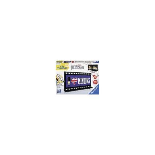 Ravensburger 3D-Puzzle 11207 - Filmstreifen Minion, British, bunt