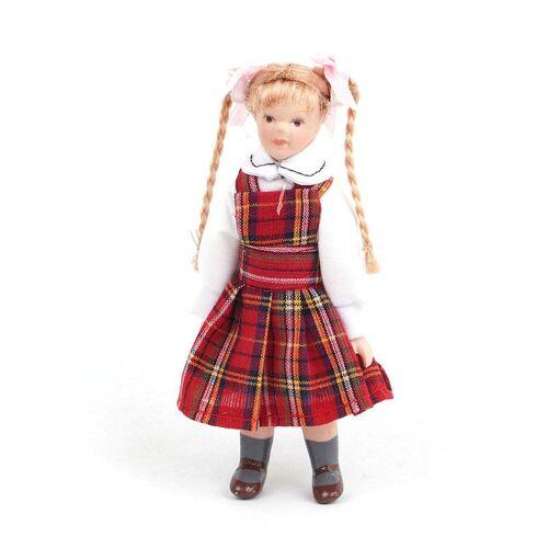"""Dolls House Emporium Dolls House 4675 Puppe """"Kirsty"""" Mädchen 9,5 cm Doll 1:12 für Puppenhaus"""