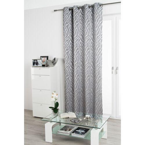RF My Home Ösenschal Vorhang Gardine 135x245 blickdicht mit Metallösen Zora 300300