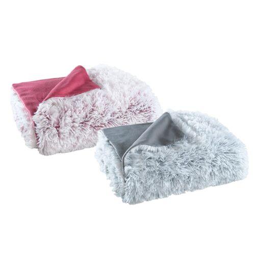 OptiDream Kuscheldecke Flokati-Fleece flauschig warm und weich 150x200