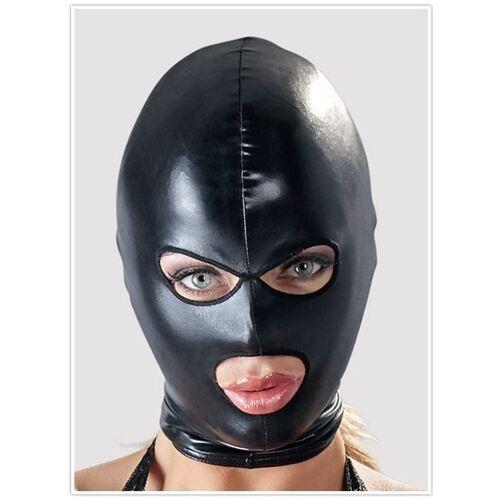 Kopfmaske mit Augen- und Mundöffnung in Wetlook