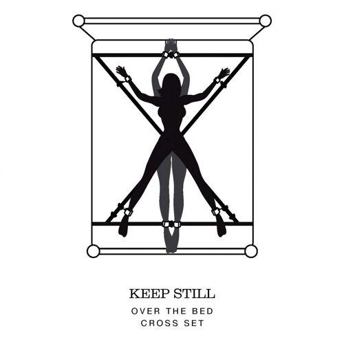 Keep Still Kreuz-Bettfesseln