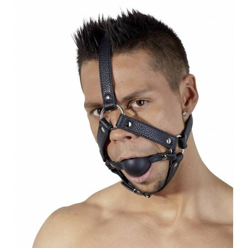 Mundknebel mit Kopfgeschirr