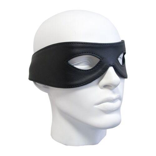 Augenmaske aus weichem Leder