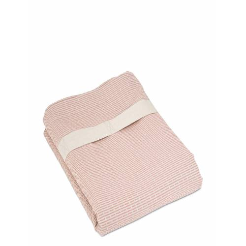 THE ORGANIC COMPANY Wellness Towel Home Bathroom Bathroom Textiles Towels Pink THE ORGANIC COMPANY Pink ONE SIZE