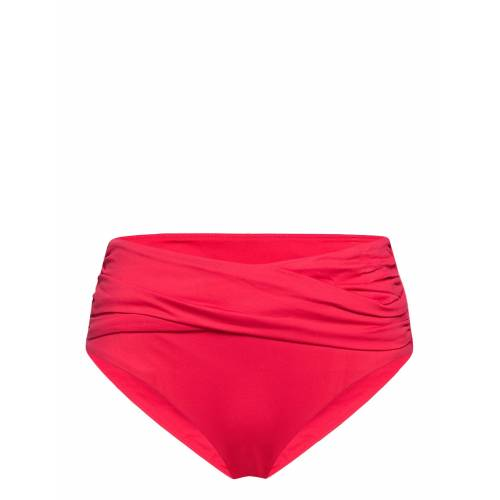 Seafolly High Waist Wrap Front Pant Bikinihose Rot SEAFOLLY Rot 40,38,36,42,34